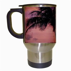 Sunset At The Beach Travel Mug (white) by StuffOrSomething
