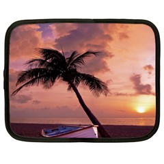 Sunset At The Beach Netbook Sleeve (xl)