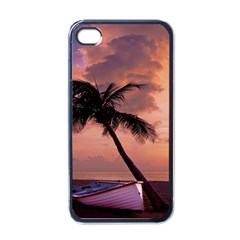 Sunset At The Beach Apple Iphone 4 Case (black) by StuffOrSomething
