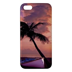 Sunset At The Beach Iphone 5s Premium Hardshell Case by StuffOrSomething