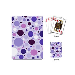 Passion For Purple Playing Cards (mini) by StuffOrSomething