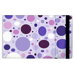 Passion For Purple Apple Ipad 3/4 Flip Case by StuffOrSomething