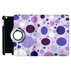 Passion For Purple Apple Ipad 3/4 Flip 360 Case by StuffOrSomething