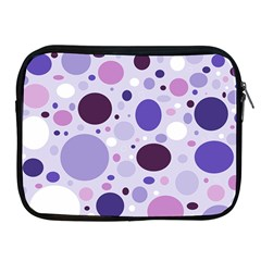Passion For Purple Apple Ipad Zippered Sleeve by StuffOrSomething