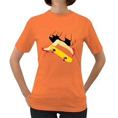 Cinderella Skaters Women s T Shirt (colored)