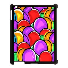 Colored Easter Eggs Apple Ipad 3/4 Case (black) by StuffOrSomething