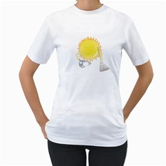 Spring Cleaning Women s T Shirt (white)