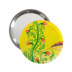 Whimsical Tulips Handbag Mirror (2 25 ) by StuffOrSomething
