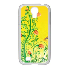 Whimsical Tulips Samsung Galaxy S4 I9500/ I9505 Case (white) by StuffOrSomething