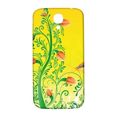 Whimsical Tulips Samsung Galaxy S4 I9500/i9505  Hardshell Back Case by StuffOrSomething