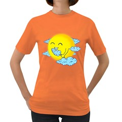 Cloud Candy Women s T Shirt (colored) by Contest1836099