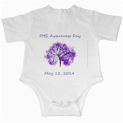 Fms Awareness Day 2014 Infant Creeper by FunWithFibro