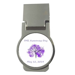 Fms Awareness 2014 Money Clip (round) by FunWithFibro