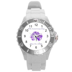 Fms Awareness 2014 Plastic Sport Watch (large) by FunWithFibro