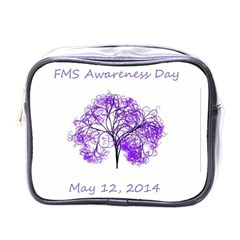 Fms Awareness 2014 Mini Travel Toiletry Bag (one Side) by FunWithFibro