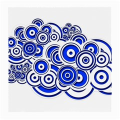 Trippy Blue Swirls Glasses Cloth (medium) by StuffOrSomething