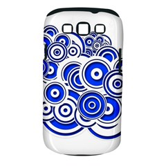 Trippy Blue Swirls Samsung Galaxy S Iii Classic Hardshell Case (pc+silicone) by StuffOrSomething