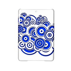 Trippy Blue Swirls Apple Ipad Mini 2 Hardshell Case by StuffOrSomething