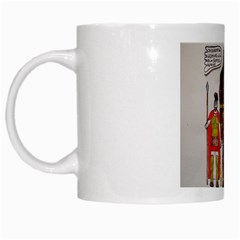 Big Foot & Romans White Coffee Mug by creationtruth