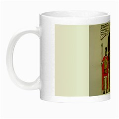 Big Foot & Romans Glow In The Dark Mug by creationtruth
