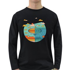 As Above, So Below Men s Long Sleeve T-shirt (dark Colored) by Contest1861806