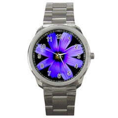 Purple Bloom Sport Metal Watch by BeachBum