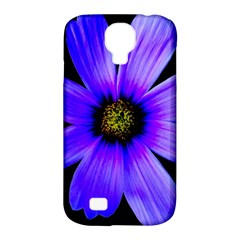 Purple Bloom Samsung Galaxy S4 Classic Hardshell Case (pc+silicone)