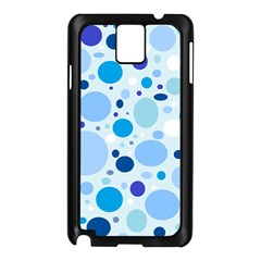 Bubbly Blues Samsung Galaxy Note 3 N9005 Case (black)