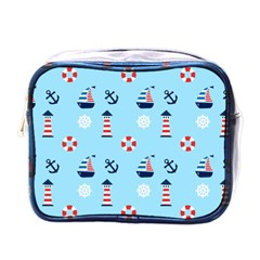 Sailing The Bay Mini Travel Toiletry Bag (one Side) by StuffOrSomething