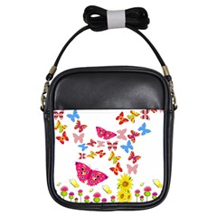 Butterfly Beauty Girl s Sling Bag by StuffOrSomething