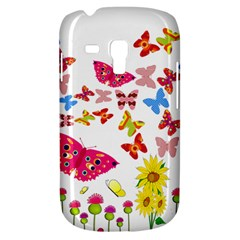 Butterfly Beauty Samsung Galaxy S3 Mini I8190 Hardshell Case by StuffOrSomething