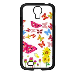 Butterfly Beauty Samsung Galaxy S4 I9500/ I9505 Case (black) by StuffOrSomething
