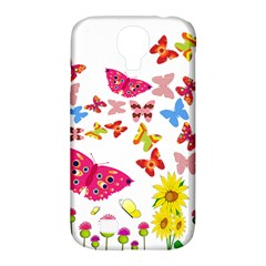 Butterfly Beauty Samsung Galaxy S4 Classic Hardshell Case (pc+silicone) by StuffOrSomething