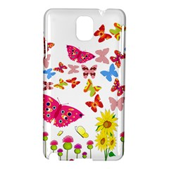 Butterfly Beauty Samsung Galaxy Note 3 N9005 Hardshell Case by StuffOrSomething