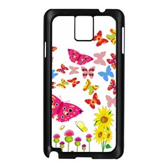 Butterfly Beauty Samsung Galaxy Note 3 N9005 Case (black) by StuffOrSomething