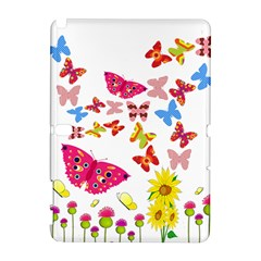 Butterfly Beauty Samsung Galaxy Note 10 1 (p600) Hardshell Case by StuffOrSomething