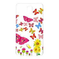 Butterfly Beauty Samsung Galaxy Note 3 N9005 Hardshell Back Case by StuffOrSomething