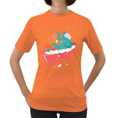 Rub A Dub Fun Women s T Shirt (colored)