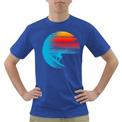 Surf Heaven Men s T-shirt (colored) by Contest1854579