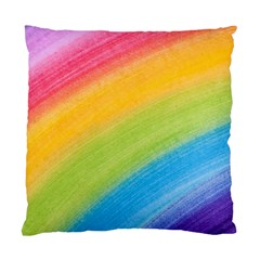 Acrylic Rainbow Cushion Case (two Sided)  by StuffOrSomething