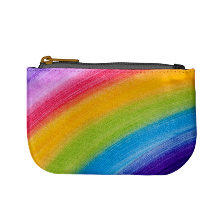 Acrylic Rainbow Coin Change Purse