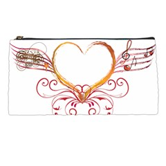 Love Music Pencil Case by NoemiDesign