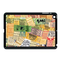 Retro Concert Tickets Apple Ipad Mini Case (black) by StuffOrSomething