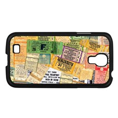 Retro Concert Tickets Samsung Galaxy S4 I9500/ I9505 Case (black)
