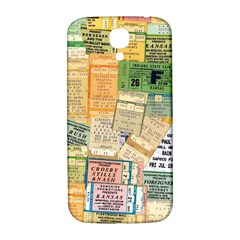 Retro Concert Tickets Samsung Galaxy S4 I9500/i9505  Hardshell Back Case by StuffOrSomething