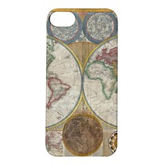 1794 World Map Apple Iphone 5s Hardshell Case by StuffOrSomething