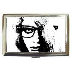 Hipster Zombie Girl Cigarette Money Case