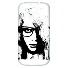 Hipster Zombie Girl Samsung Galaxy S3 S Iii Classic Hardshell Back Case by chivieridesigns
