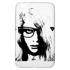 Hipster Zombie Girl Samsung Galaxy Tab 3 (8 ) T3100 Hardshell Case  by chivieridesigns