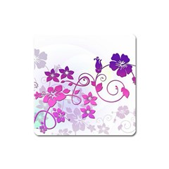 Floral Garden Magnet (square) by Colorfulart23